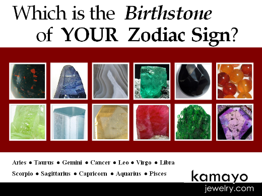 Birthstones of the different zodiac signs which is your birthstone